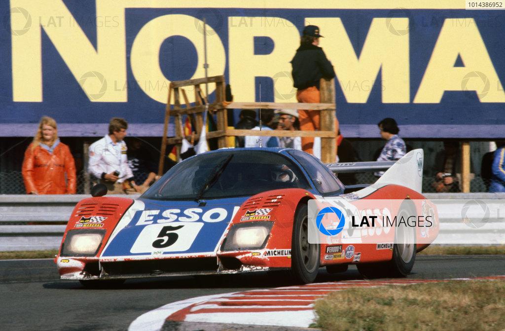 1980 Le Mans 24 Hours. Le Mans, France. 14th - 15th June 1980. Guy Frequelin / Roger Dorchy (WM P79/80 Peugeot), 4th position, action.  World Copyright: LAT Photographic. Ref: 80LM06.