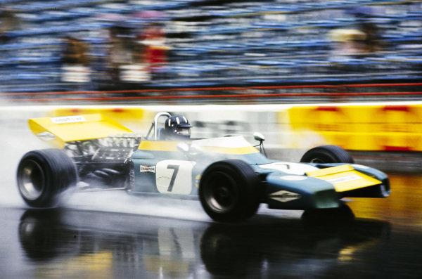 Graham Hill, Brabham BT34 Ford.