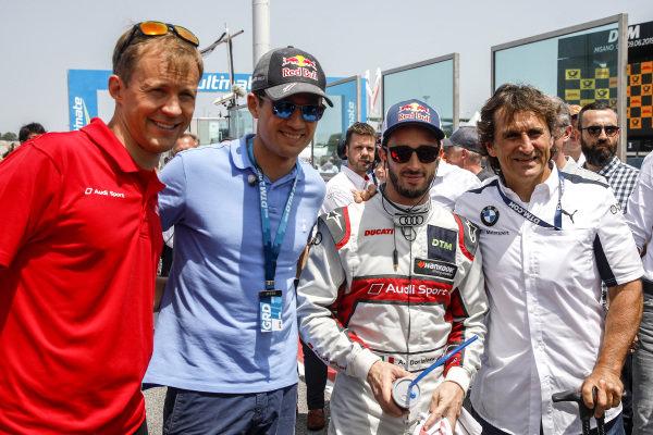 Mattias Ekström, Sebastien Orgier, Andrea Dovizioso, Audi Sport Team WRT, Alex Zanardi.