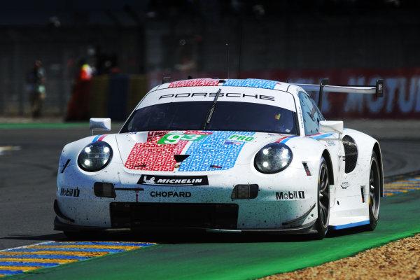 #93 Porsche GT Team, Porsche 911 RSR - Patrick Pilet, Earl Bamber, Nick Tandy