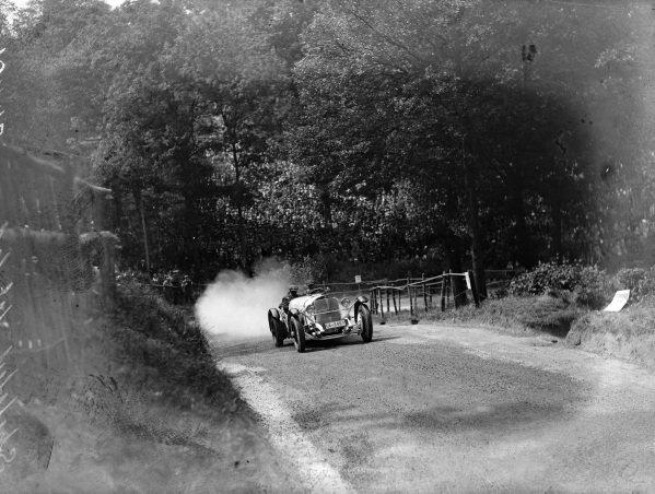 Rudolf Caracciola, Alfred Neubauer, Mercedes 38/250.