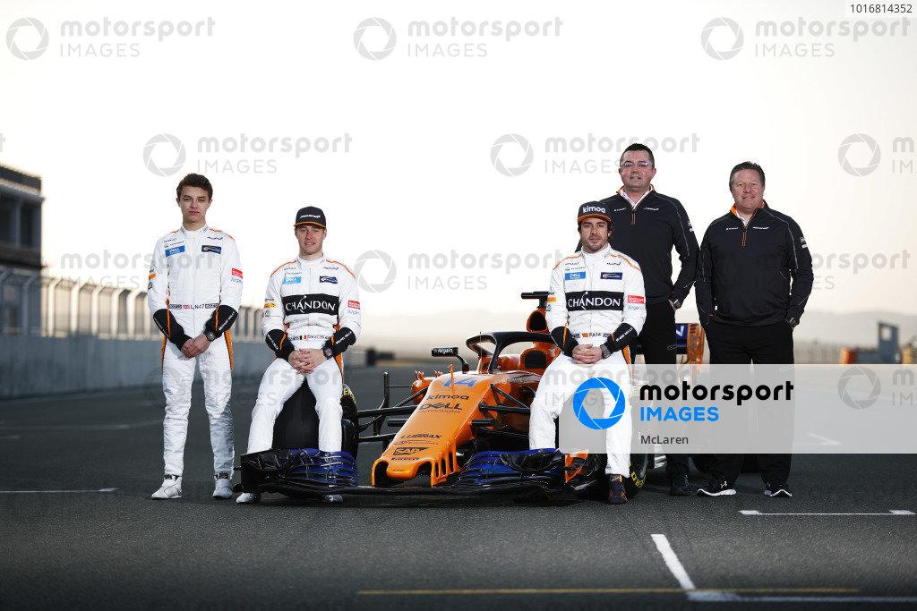 McLaren MCL33 Launch