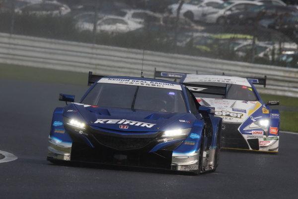 GT500 2nd position Koudai Tsukakoshi & Bertrand Baguette ( #17 KEIHIN NSX-GT )