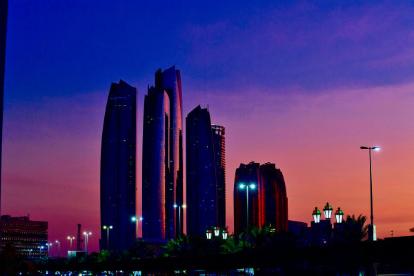 A scenic view of Abu Dhabi
