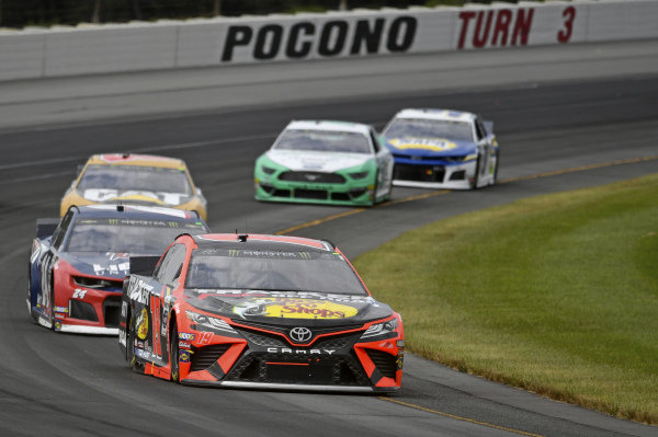 #19: Martin Truex Jr., Joe Gibbs Racing, Toyota Camry Bass Pro Shops/Tracker Off Road