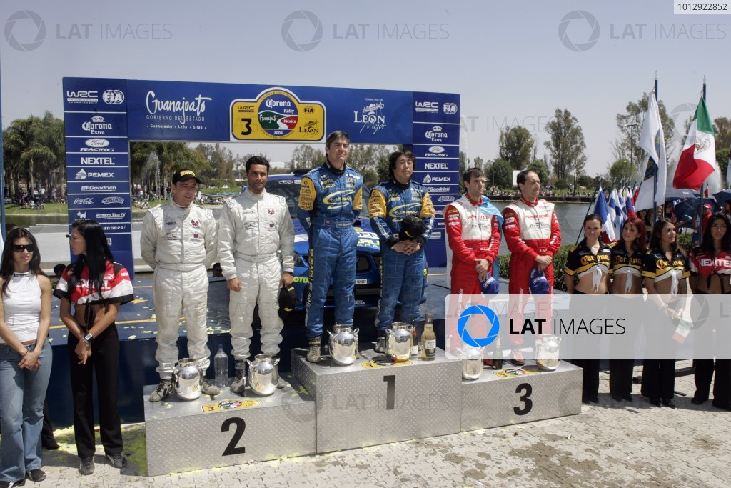 2006 FIA World Rally Champs. Round Three; Rally Mexico.; 2nd - 5th March 2006.