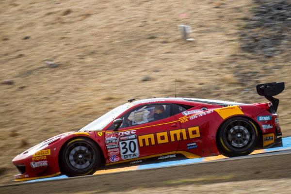 28-30 August, 2015, Sonoma, California USA Henrique Cisneros, #30 Ferrari. ?2015, Brian Cleary LAT Photo USA