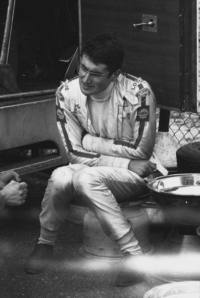 1970 German Grand Prix. Hockenheim, Germany. 31st July - 2nd August 1970. John Miles (Lotus 72-Ford), retired, portrait.  World Copyright: LAT Photographic. Ref: 3235 - 7A.