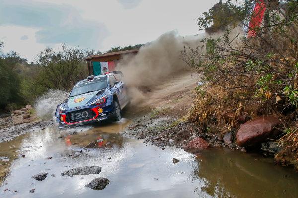 2017 FIA World Rally Championship, Round 03 , Rally Mexico, February 08-12, 2017, Thierry Neuville, Hyundai, Action, Worldwide Copyright: McKlein/LAT