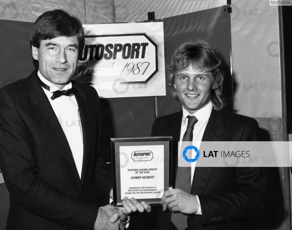 1987 Autosport Awards.
