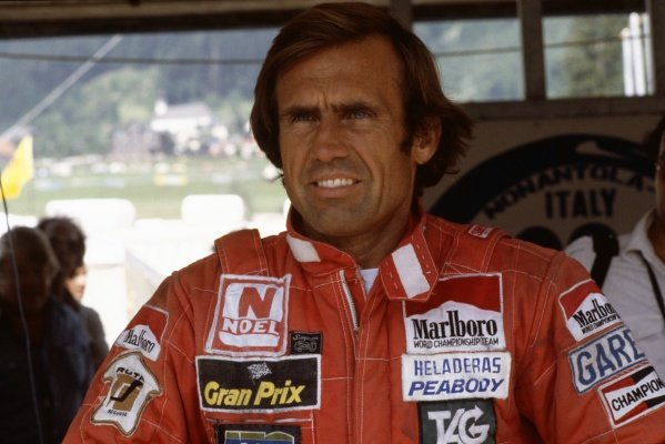 1981 Brazilian Grand Prix.Jacarepagua, Rio de Janeiro, Brazil. 27-29 March 1981.Carlos Reutemann (Williams FW07C-Ford Cosworth), 1st position, portrait.World Copyright: LAT PhotographicRef: 35mm transparency