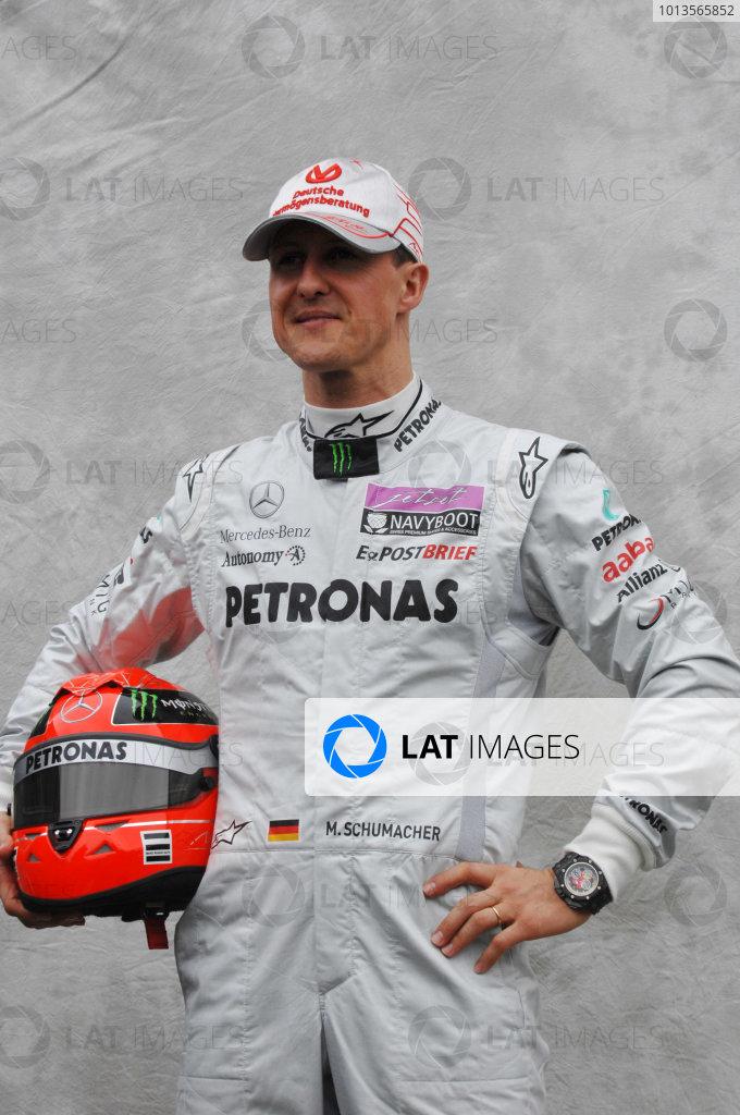 Albert Park, Melbourne, Australia24th March 2011.Michael Schumacher, Mercedes GP W02.World Copyright: John Townsend/LAT Photographicref: Digital Image JTX_7104