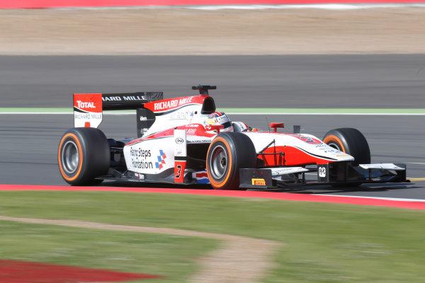 2013 GP2 Series. Round 5. Silverstone, Northamptonshire, England. 30th June. Sunday Race. James Calado (GBR , ART Grand Prix). Action.  World Copyright: Alastair Staley/GP2 Series Media Service. Ref: _R6T2359