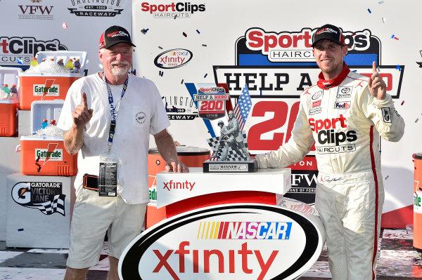 NASCAR XFINITY Series Sport Clips Haircuts VFW 200 Darlington Raceway, Darlington, SC USA Saturday 2 September 2017 Denny Hamlin, SportsClips Toyota Camry World Copyright: Rusty Jarrett LAT Images