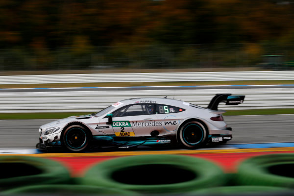 2017 DTM Round 9  Hockenheimring, Germany  Friday 13 October 2017. Gary Paffett, Mercedes-AMG Team HWA, Mercedes-AMG C63 DTM  World Copyright: Alexander Trienitz/LAT Images ref: Digital Image 2017-DTM-HH2-AT2-0363