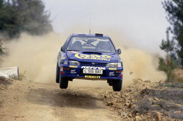 1994 World Rally Championship (F2).Australian Rally, Australia.Colin McRae/Derek Ringer (Subaru Impreza 555).World Copyright: LAT PhotographicRef: 35mm transparency 94RALLY22