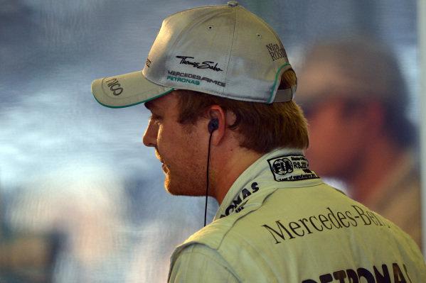 Nico Rosberg (GER) Mercedes AMG F1. Formula One World Championship, Rd9, German Grand Prix, Practice, Nurburgring, Germany, Friday 5 July 2013.