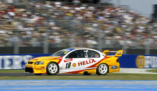 2004 Australian V8 Supercars.Non-Championship Round. Albert Park, Melbourne, 5th - 7th March.V8 Supercar driver Warren Luff in action in his first seassion in V8 Supercar's.World Copyright: Mark Horsburgh/LAT Photographicref: Digital Image Only