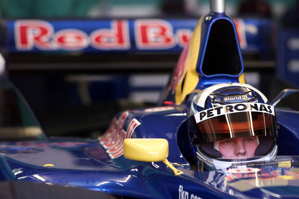 Barcelona, Spain. 19th December 2000.Kimi Raikkonen - Sauber Petronas.World Copyright: Bellanca/LAT Photographic