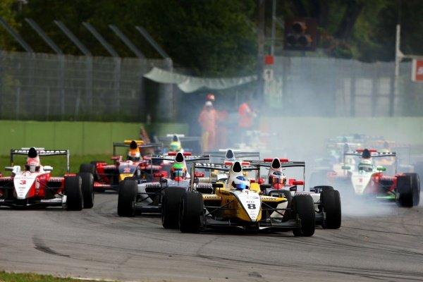 Simon Trummer (SUI), Iris Project.International Formula Master, Rd8, Imola, San Marino, Italy, 20 September 2009.