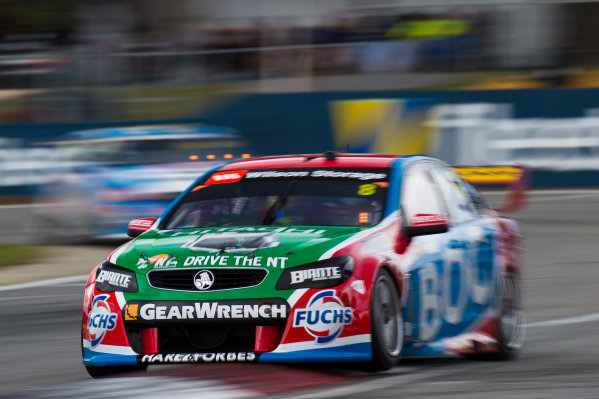 2016 V8 Supercar Championship Round 4.  Perth SuperSprint, Barbagallo Raceway, Western Australia, Australia. Friday 6th May to Sunday 8th May 2016. Jason Bright drives the #8 Team BOC Holden Commodore VF. World Copyright: Daniel Kalisz/LAT Photographic Ref: Digital Image 060516_V8SCR4_PPERTH_DKIMG_1275.JPG
