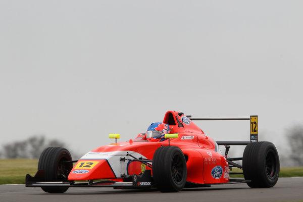 2016 MSA Formula Donington Park, 16th-17th April 2016, Ayrton Simmons (GBR) TRS Arden MSA Formula  World copyright. Jakob Ebrey/LAT Photographic