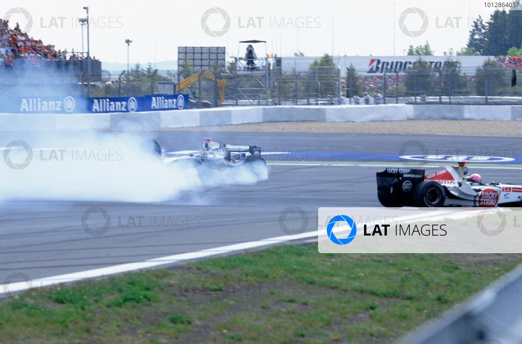2005 European Grand Prix - Sunday Race.