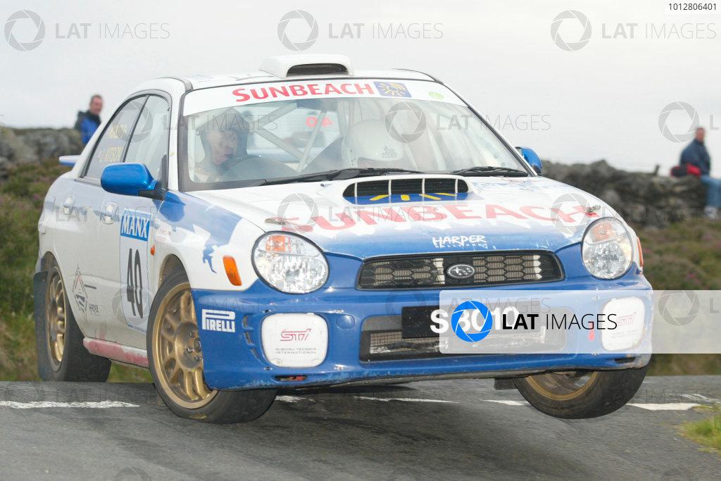 Adrian Kermode/Jonathan Coleman. MSA Historic Championship. Manx Rally 2003. World copyright Jakob Ebrey/LAT Photographic.