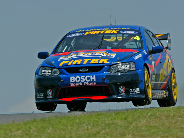 Australian V8 Supercars, Round 13, Eastert Creek, Sydney. 29th Nov 2003.Ford driver Marcos Ambrose set the fastest time in practice during the VIP Petfoods Main Event at Eastern Creek International Raceway 20km west of Sydney NSW, Australia.Photo: Mrk Horsburgh/LAT Photographic