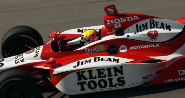 2003 IRL IndyCar Chicagoland Speedway, Chicago, Illinois 8/5-8/7/03 USADan WheldonWorld Copyright-Walt Kuhn 2003 LAT Photographicref: Digital Image Only