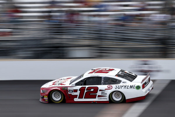 #12: Ryan Blaney, Team Penske, Ford Mustang Wabash National