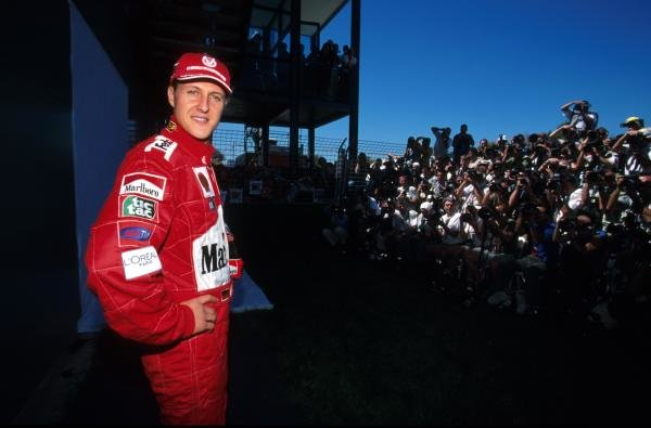 Michael Schumacher (GER) Ferrari F1-2001 Australian Grand Prix, Melbourne, 4 March 2001 BEST IMAGE
