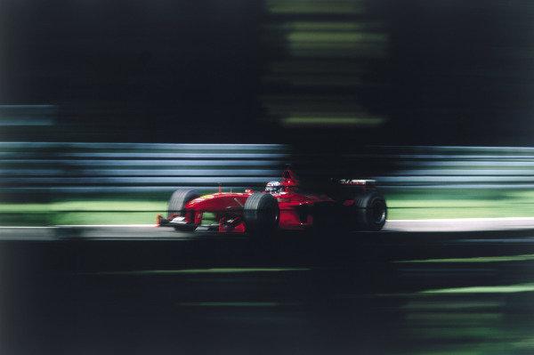 2003 Racing Past. . Exhibition1999 German Grand Prix, Hockenheim. Mika Salo (Ferrari F399), 2nd position.World Copyright - LAT PhotographicExhibition ref: a033