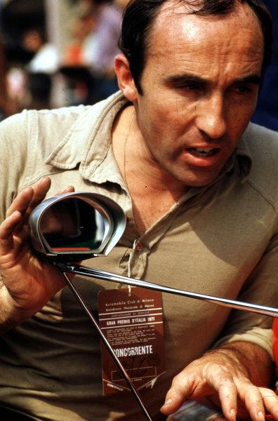 1971 Italian Grand Prix.Monza, Italy.3-5 September 1971.Frank Williams Racing Cars team boss Frank Williams.World Copyright - LAT Photographic