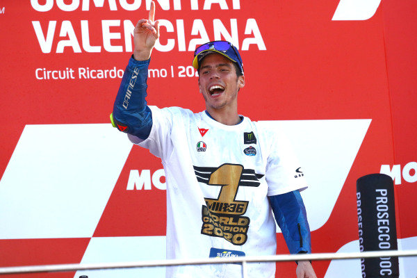 Champion Joan Mir, Team Suzuki MotoGP.