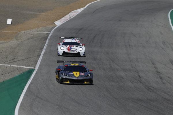 #4: Corvette Racing Corvette C8.R, GTLM: Tommy Milner, Nick Tandy, #79: WeatherTech Racing Porsche 911 RSR - 19, GTLM: Cooper MacNeil, Matt Campbell