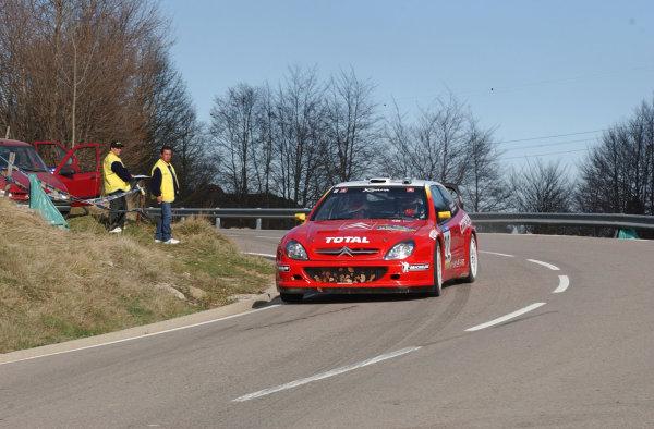 2002 World Rally ChampionshipRally Catalunya, 21st-24th March 2002.Philippe Bugalski on Stage 11.Photo: Ralph Hardwick/LAT