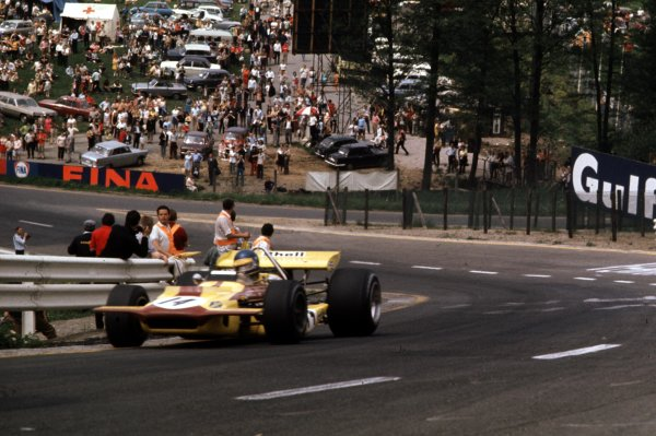 1970 Belgian Grand Prix.Spa-Francorchamps, Belgium.5-7 June 1970.Ronnie Peterson (March 701 Ford).Ref-70 BEL 12.World Copyright - LAT Photographic
