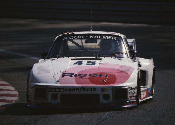 """""""John Winter"""" / Dieter Schornstein / Philippe Gurdjian, Porsche Kremer Racing, Porsche 935."""