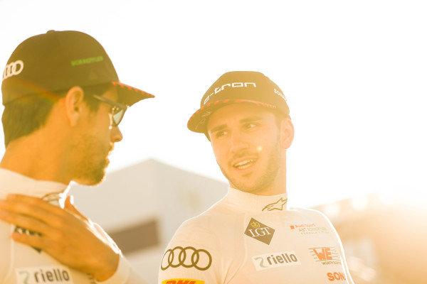 Lucas Di Grassi (BRA), Audi Sport ABT Schaeffler and Daniel Abt (DEU), Audi Sport ABT Schaeffler