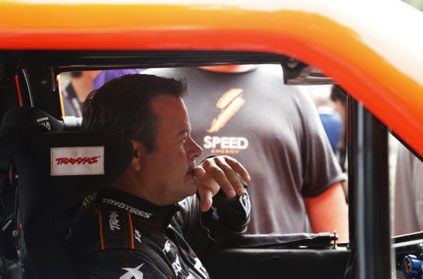 2015 Goodwood Festival of Speed.  Goodwood Estate, West Sussex, England. 25th - 28th June 2015.  Robby Gordon.  Ref: KW5_3557a. World copyright: Kevin Wood/LAT Photographic