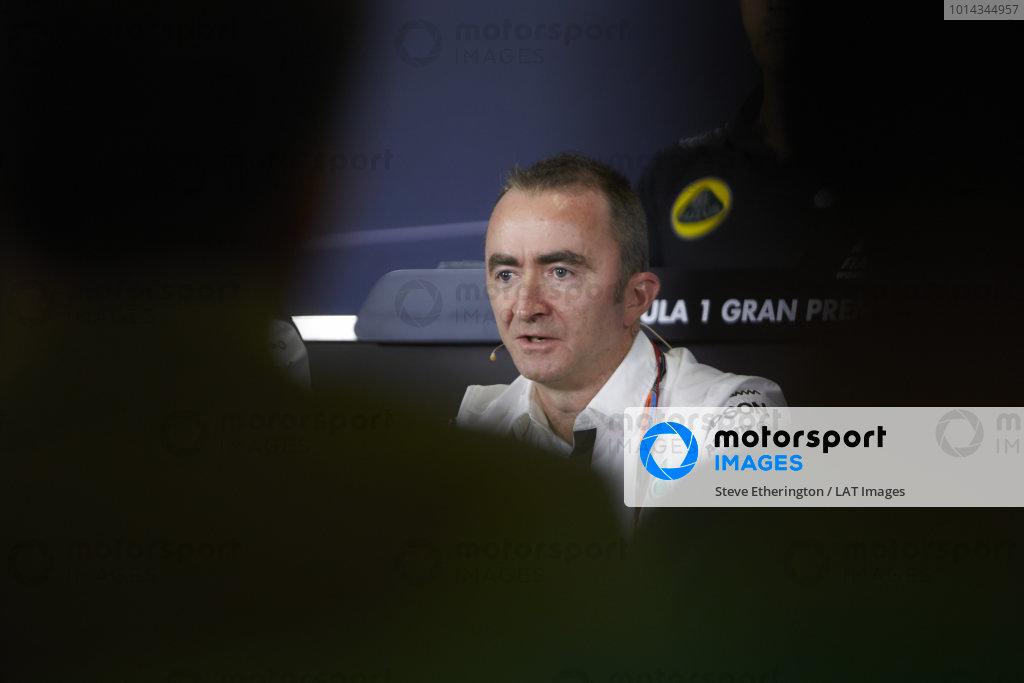 Circuit de Catalunya, Barcelona, Spain. Friday 8 May 2015. Paddy Lowe, Executive Director (Technical), Mercedes AMG. World Copyright: Steve Etherington/LAT Photographic. ref: Digital Image SNE10018