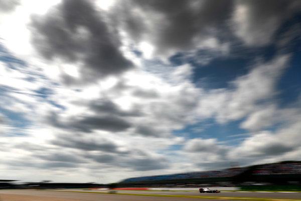 Silverstone, Northamptonshire, UK Friday 08 July 2016. Esteban Gutierrez, Haas VF-16 Ferrari. World Copyright: Glenn Dunbar/LAT Photographic ref: Digital Image _V2I7630