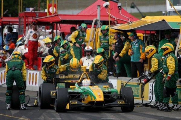 Will Power (AUS), Team Australia Panoz DP01.Champ Car World Series, Rd6, Mont Tremblant, Canada, 29 June - 1 July 2007.