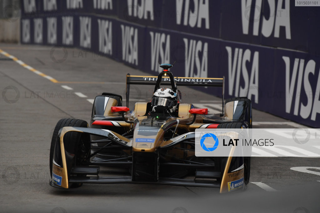 2017/2018 FIA Formula E Championship. Round 1 - Hong Kong, China. Saturday 02 December 2018. Andre Lotterer (BEL), TECHEETAH, Renault Z.E. 17. Photo: Mark Sutton/LAT/Formula E ref: Digital Image DSC_8332