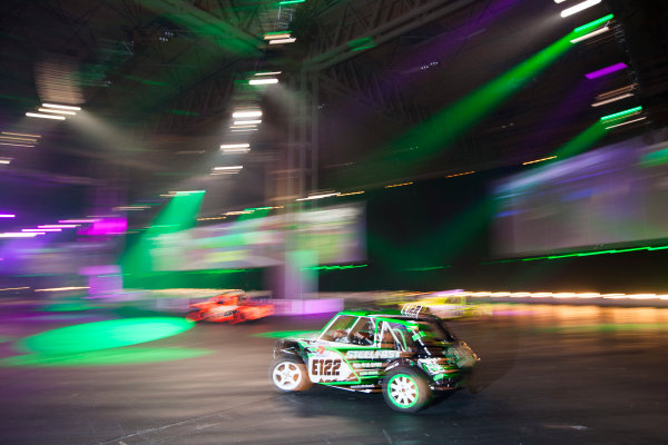 Autosport International Exhibition. National Exhibition Centre, Birmingham, UK. Sunday 11 January 2015. The Live Action Arena. World Copyright: Zak Mauger/LAT Photographic. ref: Digital Image _P7T0776