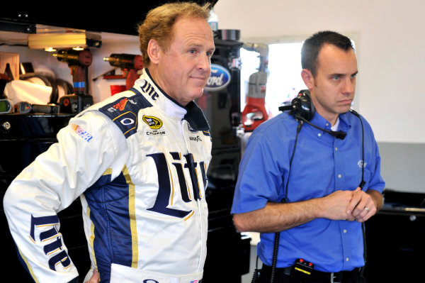 9-10 January 2014, Daytona Beach, Florida, USA Paul Wolfe and Rusty Wallace ©2014, Nigel Kinrade LAT Photo USA