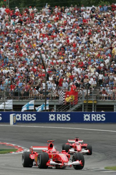 2005 United States Grand Prix - Sunday Race,Indianapolis, USA 19th June 2005
