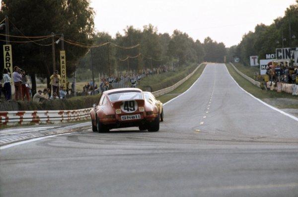 1973 Le Mans 24 hours.Le Mans, France. 9-10 June 1973.Jean Egreteaud/Jean-Claude Lagniez (Porsche Carrera), retired.World Copyright: LAT PhotographicRef: 35mm transparency 73LM22