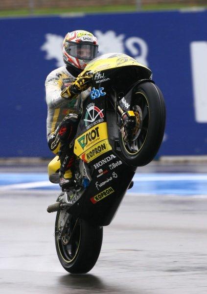 2007 Moto GP British Grand Prix.Donington Park, England.22nd-24th June 2007.250cc race.Andrea Dovizioso wins.World Copyright: Kevin Wood/LAT Photographicref: Digital Image IMG_5927